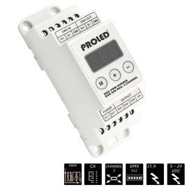 DMX PWM DIMMER RGB DIN-RAIL 3x 5A CA