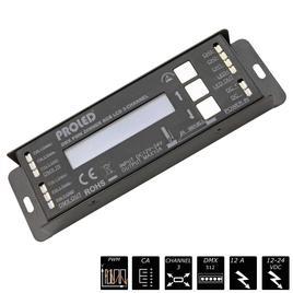 DMX PWM DIMMER RGB LCD CA 3x 4A