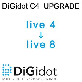 DiGidot UPGRADE C4 Live 4 zu Live 8