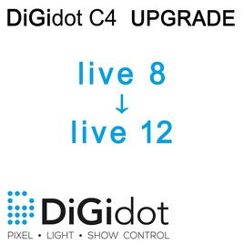 DiGidot UPGRADE C4 Live 8 zu Live 12