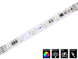 FLEX STRIP DIGITAL 60 SEG - 24V RGB 5m