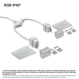 Y-ANSCHLUSSKABEL IP65 FLAT RGB