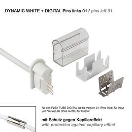 ANSCHLUSSKABEL links 01 IP67 auf offenes Kabelende PRO DYNAMIC WHITE