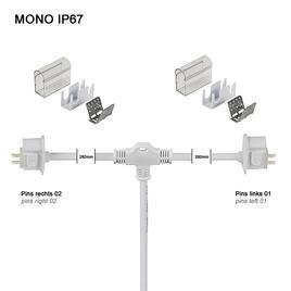 Y-ANSCHLUSSKABEL IP67 PRO MONO