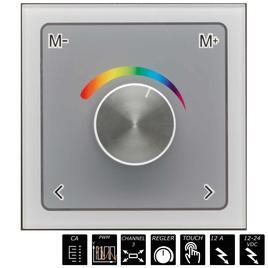 GLASS TOUCH WHEELPWM DIMMER RGB 3-Kanal