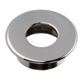 UMBAU AUF EDELSTAHLRING rund chrom 58mm