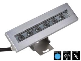 IP68 WALLWASHER 6x 2 Watt MONO CW