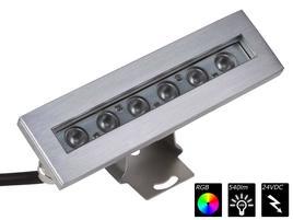 IP68 WALLWASHER 6x 2 Watt TRILED RGB