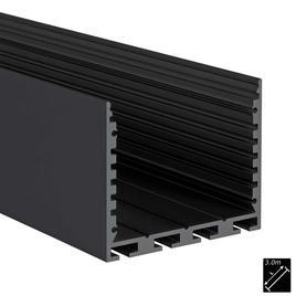 ALU PROFILE L-LINE STANDARD 24 schwarz 3m