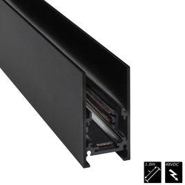 STROMSCHIENEN AUFBAU LaVilla 48, schwarz, 100cm