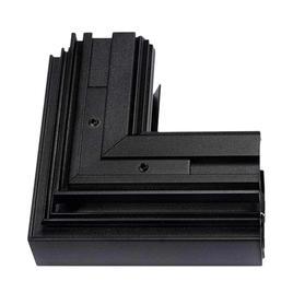 90° ECKE VERTIKAL STROMSCHIENEN RANDLOS LaVilla 48, schwarz, 5cm