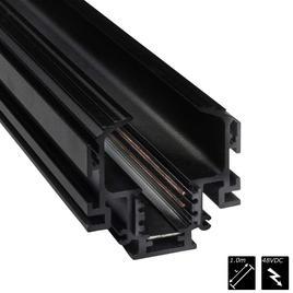 STROMSCHIENEN RANDLOS LaVilla 48, schwarz, 100cm