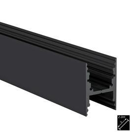 ALU PROFILE M-LINE H schwarz 2m