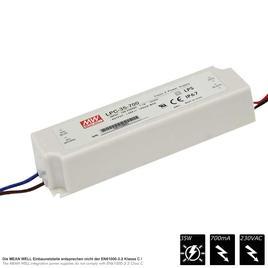 MEAN WELL SCHALTNETZTEIL CCU 700mA IP67 - 33,6 Watt