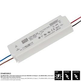 MEAN WELL SCHALTNETZTEIL ECO IP67 24 VDC - 18 Watt