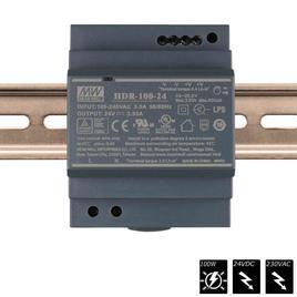 MEAN WELL SCHALTNETZTEIL DIN RAIL 24 VDC - 100 Watt