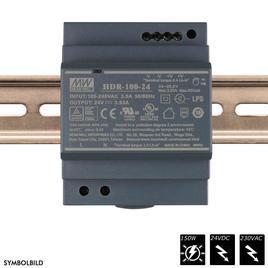 MEAN WELL SCHALTNETZTEIL DIN RAIL 24 VDC - 150 Watt