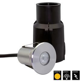 REC IP68 LIGHT 1x 3 Watt MONO 30°, WW