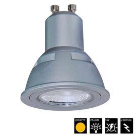 DOWNLIGHT REFLEX LED 5 MODUL, GU10, 3000°K, silber