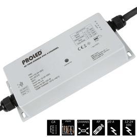 RF PWM DIMMER IP65 4x 5A