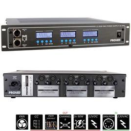 19'' X3 RGB DMX NETZTEIL 3G 3x 12 V - 3x 90 W - Common Cathode