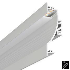 ALU PROFILE S-LINE WAVE silber 3m