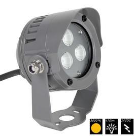 SPOT LIGHT IP65 3x 2 Watt MONO 20°, WW