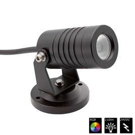 SPOT LIGHT IP65 1x 3 Watt TRILED schwarz