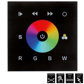 TOUCH CONTROL GLASS EASY RGBW DMX SCHWARZ