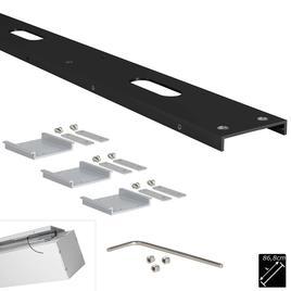 MONTAGE PROFIL SET LINEAR XL schwarz 868mm