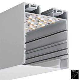 ALU PROFILE XL-LINE INDIRECT silber 3m