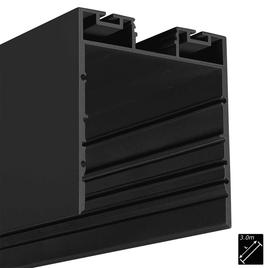 ALU PROFILE XL-LINE INDIRECT schwarz 3m