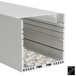 ALU PROFILE XL-LINE STANDARD silber 2m