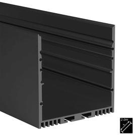 ALU PROFILE XL-LINE STANDARD schwarz 2m
