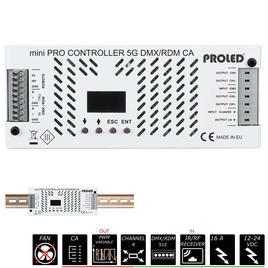 MINI PRO CONTROLLER 5G DMX/RDM 4x 4A CA