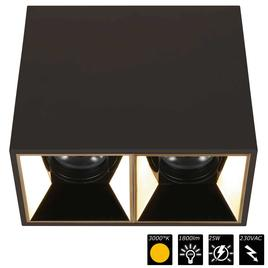 PERFORMANCE XS CUBO DUO schwarz, refl. gold, 25°, WW