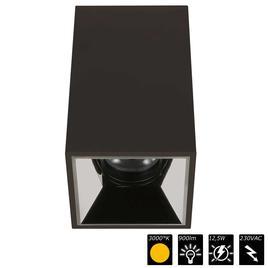 PERFORMANCE XS CUBO UNO schwarz, refl. chrom schwarz, 25°, WW